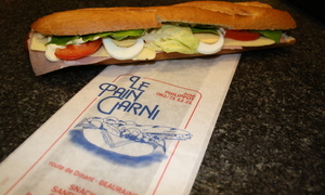 Le Pain Garni - Beauraing - Nos pains garnis